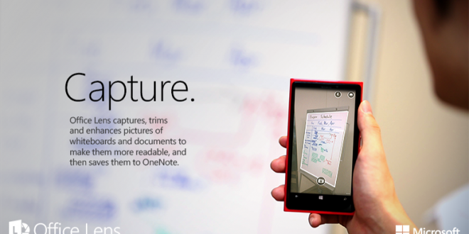 Office Lens, el escáner todoterreno de Windows Phone