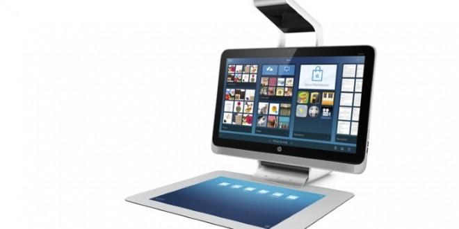 Hp presenta Sprout, su nuevo todo en uno sin teclado y con escáner 3D. ¿Es el futuro?