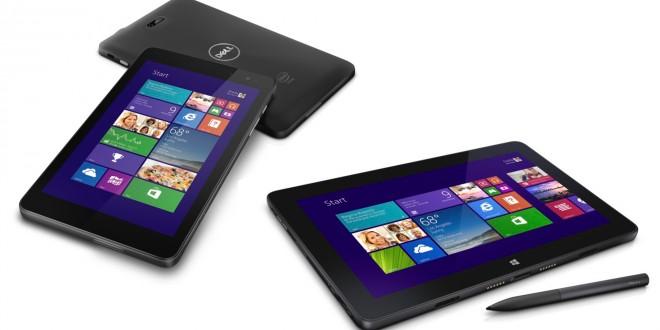 Dell presenta dos nuevas tablets de 8 pulgadas con Windows 8.1