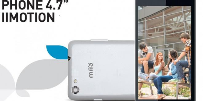 La fabricante italiana Miia presenta su nuevo terminal con Windows Phone