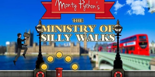Si te gustan los Monty Python, The Ministry of silly walks es tu juego