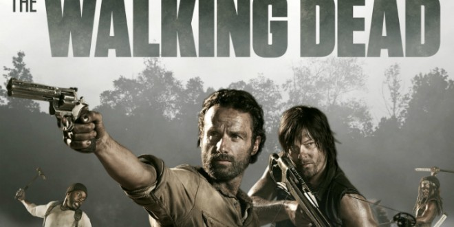 Microsoft promociona la quinta temporada de The Walking dead