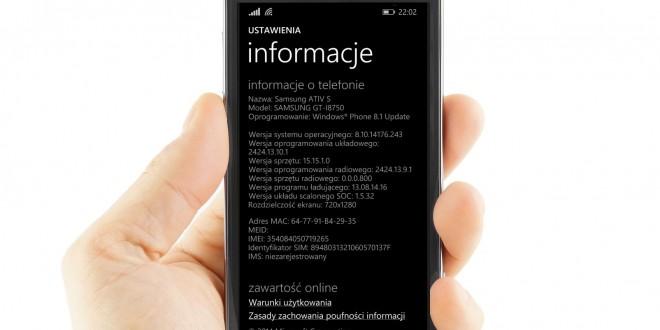 Samsung Ativ S ya está recibiendo la actualización a Windows Phone 8.1.1