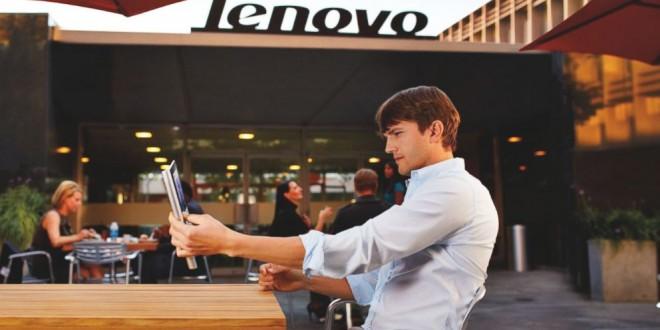 Ashton Kutcher protagoniza la campaña publicitaria de la Lenovo Yoga Pro 3