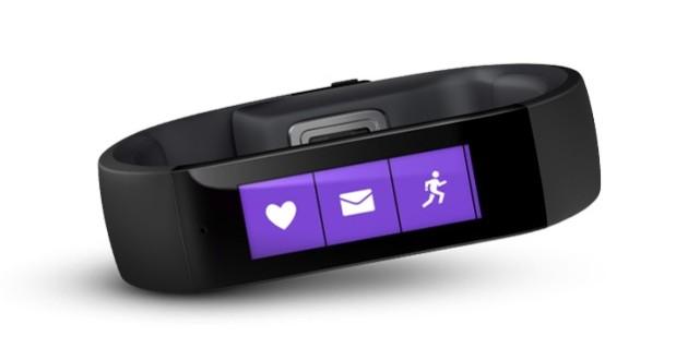 Microsoft presenta Band, su nueva pulsera deportiva inteligente