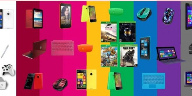 Microsoft anuncia su campaña de Navidad y oficialmente la actualización de la gama Lumia a Denim para este otoño