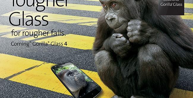 Gorilla Glass 4 busca lo más difícil: que tu pantalla sobreviva a fuertes caídas