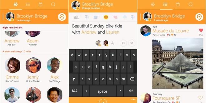 Swarm para Windows Phone se actualiza para corregir los errores de la versión lanzada la semana pasada.