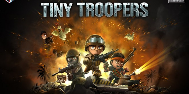 El popular Tiny Troopers llegará en Diciembre a Windows Phone