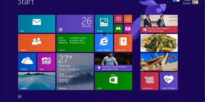 Windows 8.1 sigue en alza con un 4 % más de instalaciones con respecto al pasado mes de Septiembre