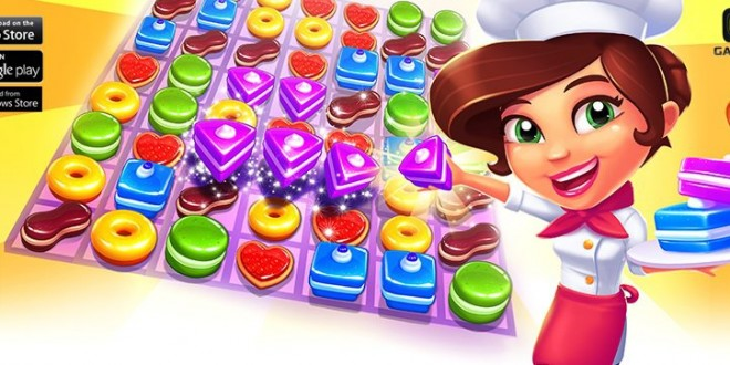 Gameloft presenta Pastry Paradise, su anti Candy Crush para Windows Phone
