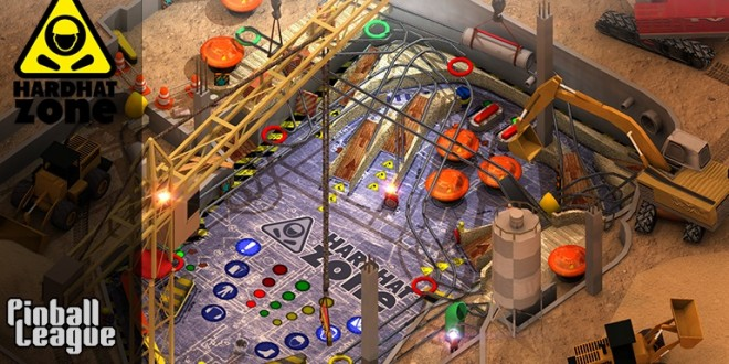 El divertido Pinball League: Hardhat Zone para Windows Phone ya está disponible en nuestra Store