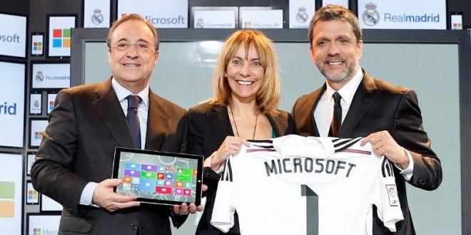 Microsoft será la plataforma digital del Real Madrid en los próximos cuatro años