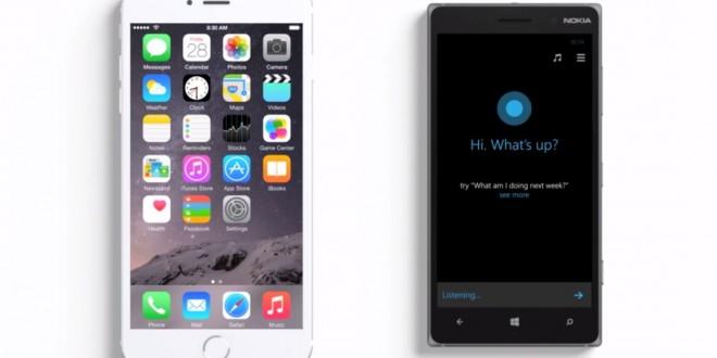 Microsoft sigue con su constante bombardeo a Apple. De nuevo, Cortana atizando a Siri en un nuevo anuncio de TV