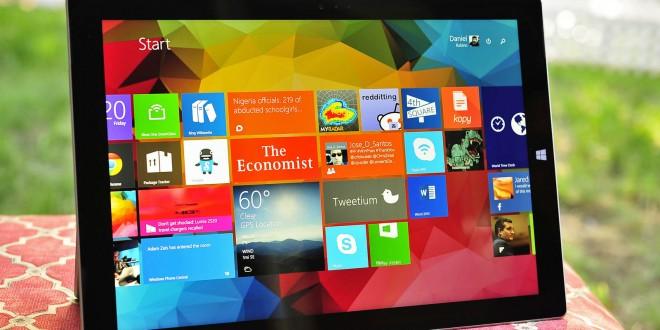 La Surface Pro 3 posee colores más reales que el Ipad Air 2. Un estudio lo confirma