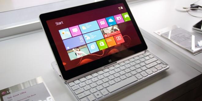 LG está desarrollando una nueva tablet con teclado desmontable y Windows 8.1. ¿Alternativa a Surface?
