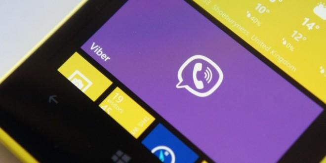 Viber para Windows Phone se actualiza con una mejora notable de rendimiento y diseño