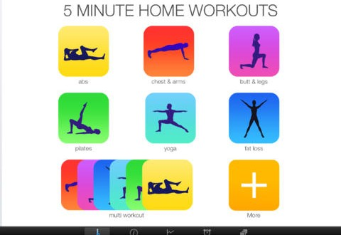 Ponte en forma en tiempo récord con 5 Minute Home Workout para Windows Phone