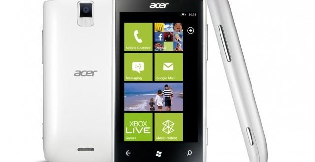 [Rumor] Acer podría volver a lanzar terminales con Windows Phone a mediados de 2015