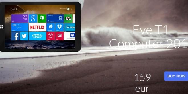 La nueva tablet de EVE TECH ya puede adquirirse online por 159€