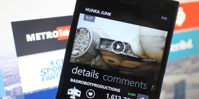 La app Metrotube para Windows Phone se actualiza solucionando errores de inicio de sesión y diversos bugs