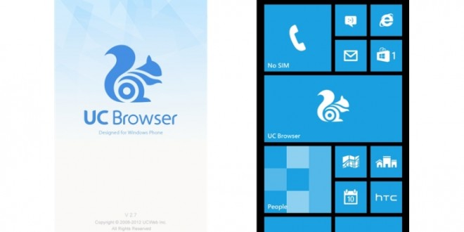 UC Browser se actualiza y se erige como el mejor navegador de Windows Phone