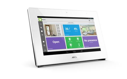Archos se adentra en la domótica con su nueva tablet Smart Home Gateaway