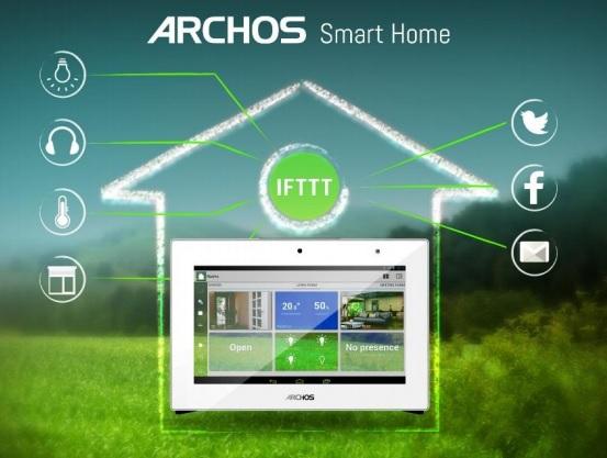 Archos se adentra en la dom�tica con su nueva tablet Smart Home Gateaway