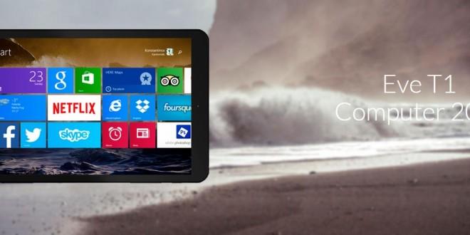 EVE T1, nueva y potente tablet finlandesa cuyo diseño ridiculiza a la competencia