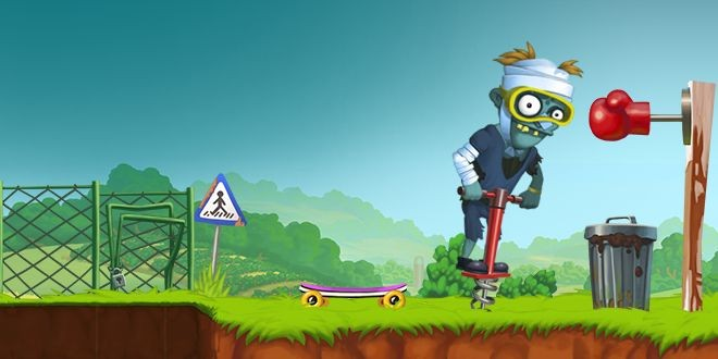 El divertido Zombie´s Got a Pogo ya está disponible en Windows Phone