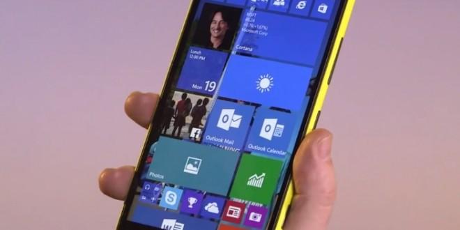 Resumen de las novedades de Windows 10 para smartphones