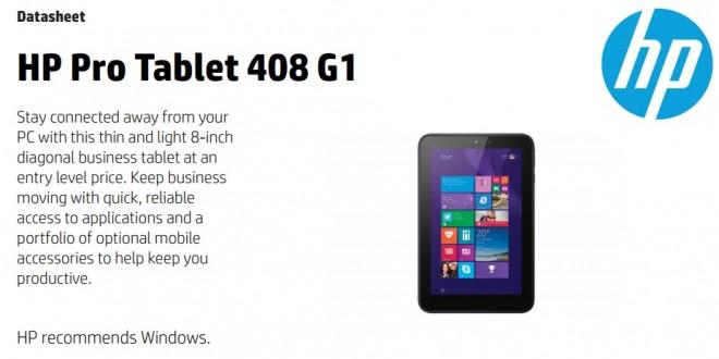 La estadounidense HP lanzará al mercado en los próximos meses una versión Pro de su tablet Stream