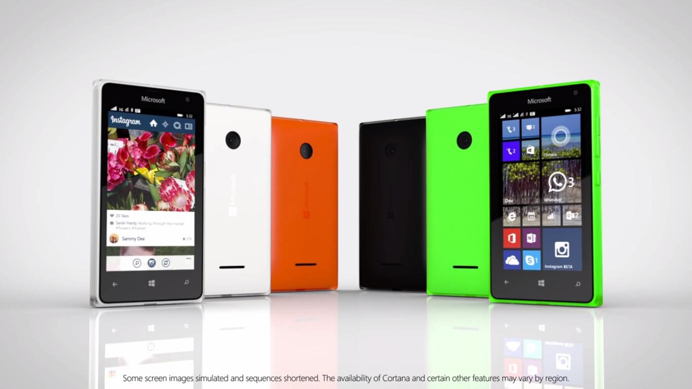 Microsoft presenta los Lumia 435 y 532, dos smartphones ...