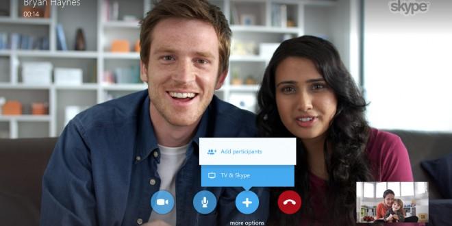 Skype para los Smart TV de Samsung se actualiza con chats de grupo y reproducción a 1080p como grandes novedades