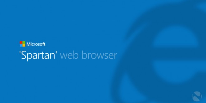 El nuevo Internet Explorer, Spartan, vendrá con soporte flash y se podrá descargar en la Windows Store