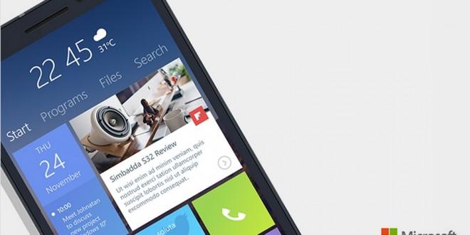Así podría ser el nuevo interfaz de nuestros Windows Phone con Windows 10