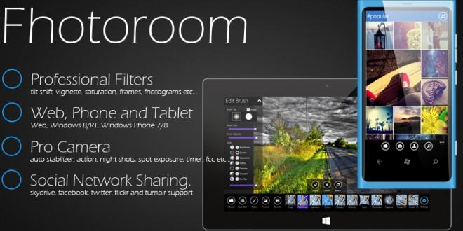 Fhotoroom para Windows Phone se actualiza con mejoras de rendimiento y corrección de errores